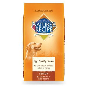 Nature S Recipe Senior Dog Food Dog Food Recipes Lamb Rice
