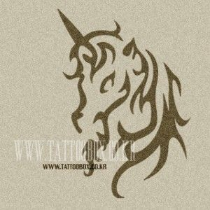 Small Unicorn Picture Unicorn Airbrush Tattoo Stencils Stencil