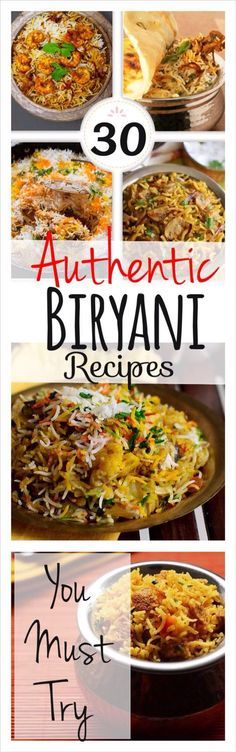30 authentic biryani recipes hyderabad state iranian cuisine 30 authentic biryani recipes forumfinder Gallery