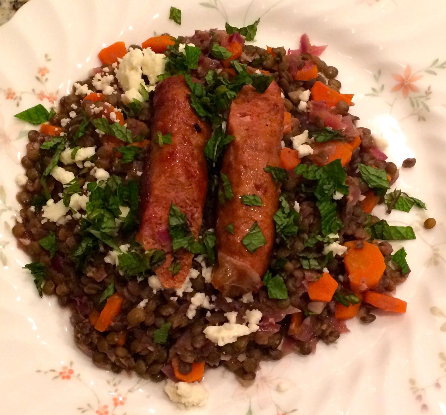 Blue apron khao soi - Merguez Lamb Sausages With French Lentils Mint Feta Blue Apron