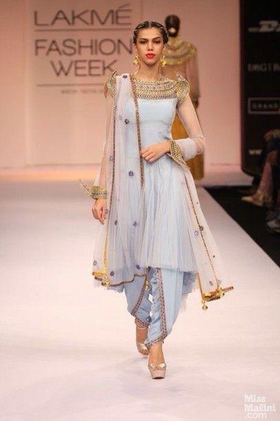Wheretoget Salwar Pattern Fashion Dress For Short Women