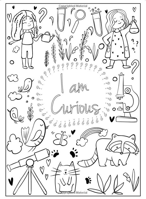 I Am Confident Brave Beautiful A Coloring Book For Girls Hopscotch Girls 9780692927991 Amazon Com Boo In 2020 Coloring Books Book Girl Coloring Pages For Girls