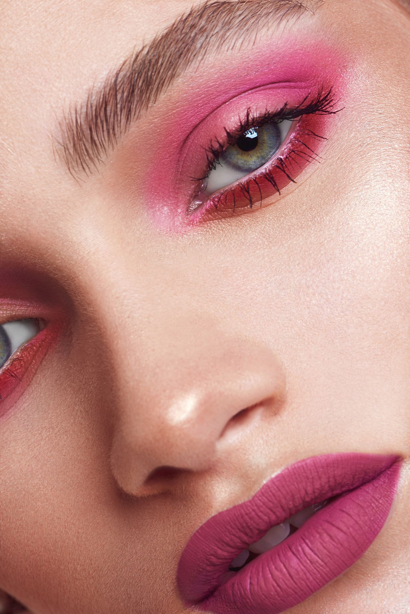 colorful beauty on Behance Makeup studio, Makeup, Beauty