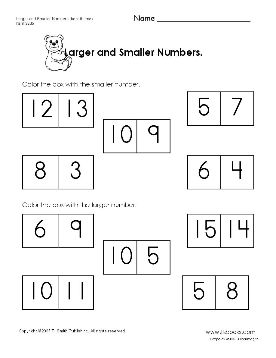 Free printable homeschool worksheets! This has up through