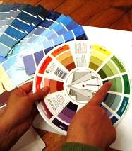 Learn how to use a color wheel for interior designing your own ...