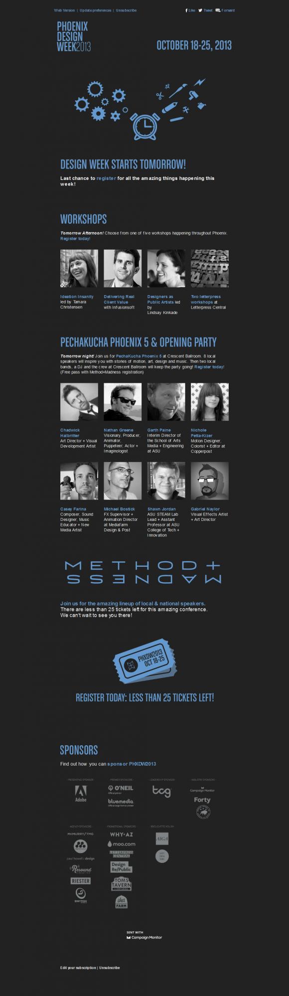 Phoenix Design – Newsletter HTML email marketing design ...