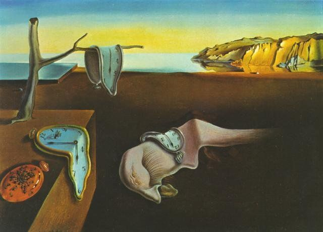 Salvador Dali - La persistencia de la memoria. #Art #Arte #Salvador #Dali