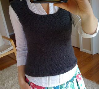 Top Down Vest by clickertyclick: FREE PATTERN