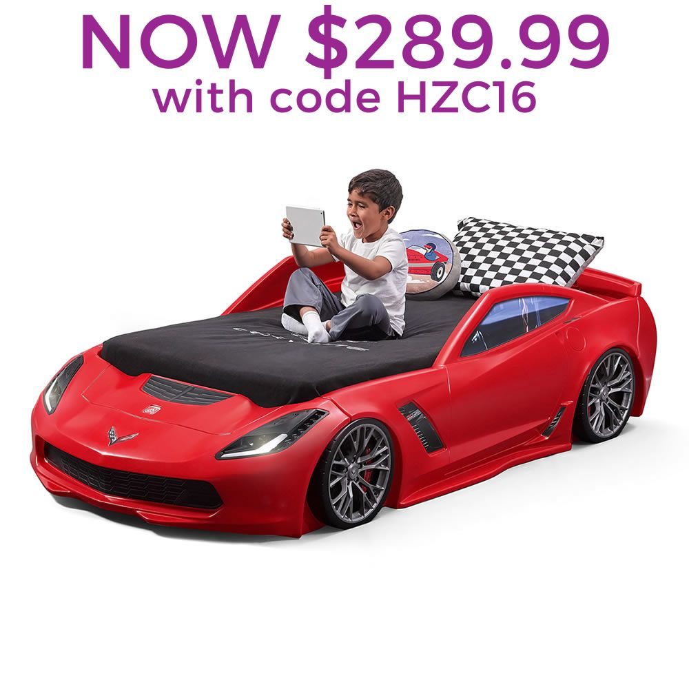 Corvette Z06 Toddler To Twin Bed Kids Bed Kids Car Bed Toddler Car Bed Car Bed