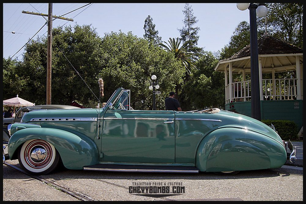 Side View Of 1940 Chevrolet Cabriolet Lowrider Cars Chevrolet Vintage Cars
