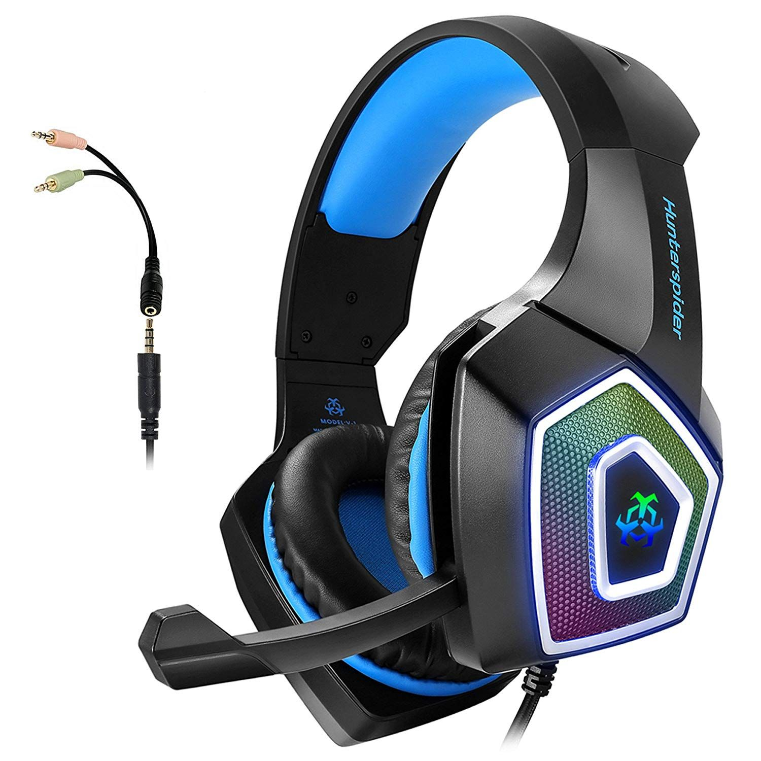 Gaming Headset With Mic For Xbox One Ps4 Pc Nintendo Switch Tablet Smartphone Headphones Stereo Gaming Headset Gaming Headphones Headphones For Ps4