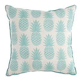 Coussin Nomos Ananas 40 X 40 Cm Coussin Ananas Coussin Coussin