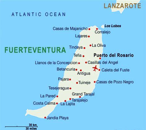 Fuerteventura Beaches among the best in Spain Beach La palma and
