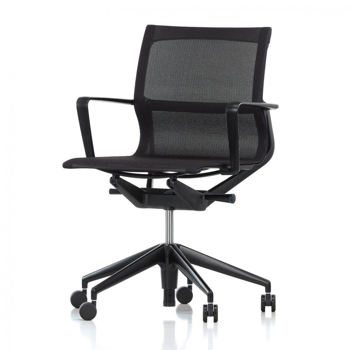 Bürostuhl Vitra vitra physix meda bürostuhl black pearl schwarz stoff trioknit