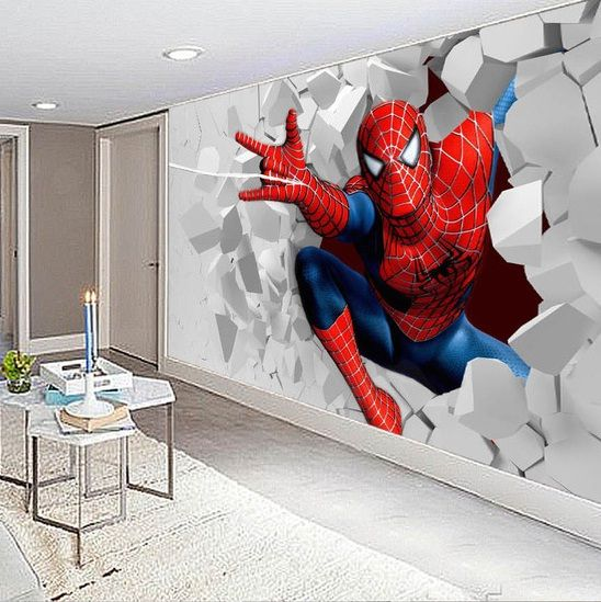 Spiderman Wallpaper For Bedroom: Popular Live Wallpaper Spiderman-Buy Cheap Live Wallpaper
