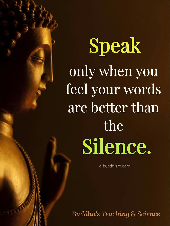 talk less... | Buddha quotes life, Buddha quotes ...
