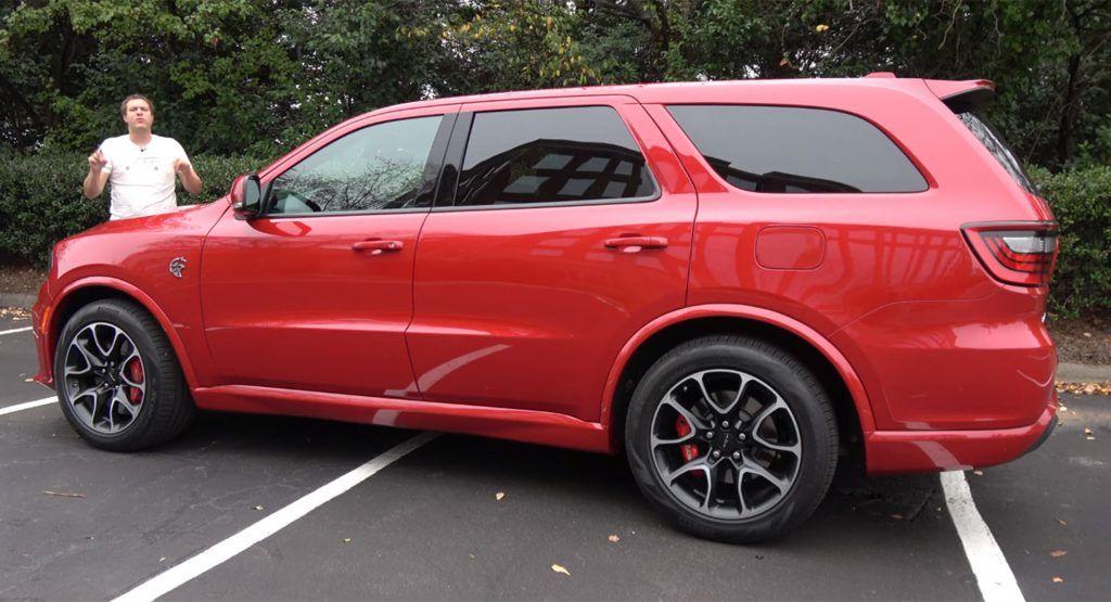 2021 Dodge Durango Srt Hellcat Is Blistering Fast But Can T Hide Its Age Carscoops Srt Hellcat Dodge Durango Srt