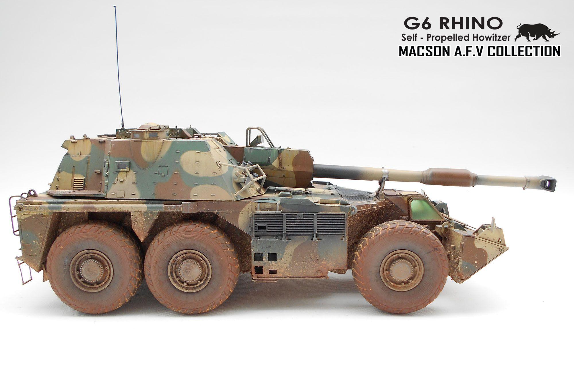 1:35 TAKOM G6 Rhino SPG | G6 Rhino SPG by Macson Tan