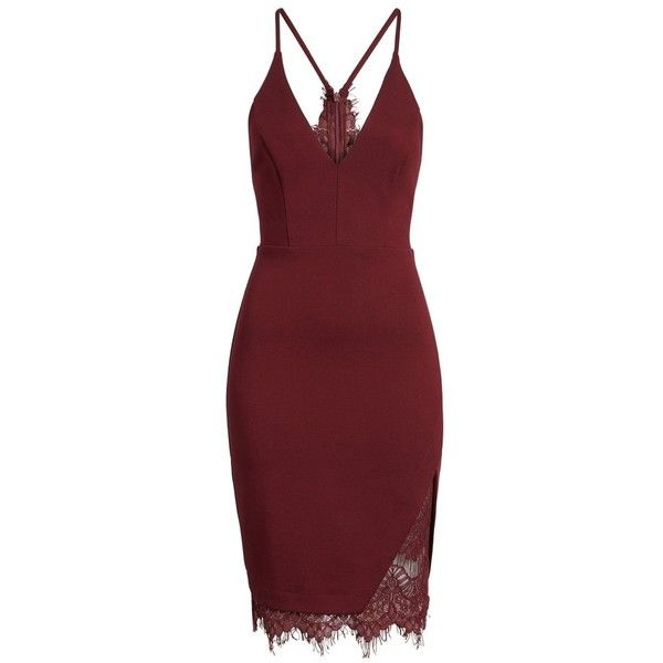 Women's Astr The Label Lace Body-Con Dress ($72) Liked On