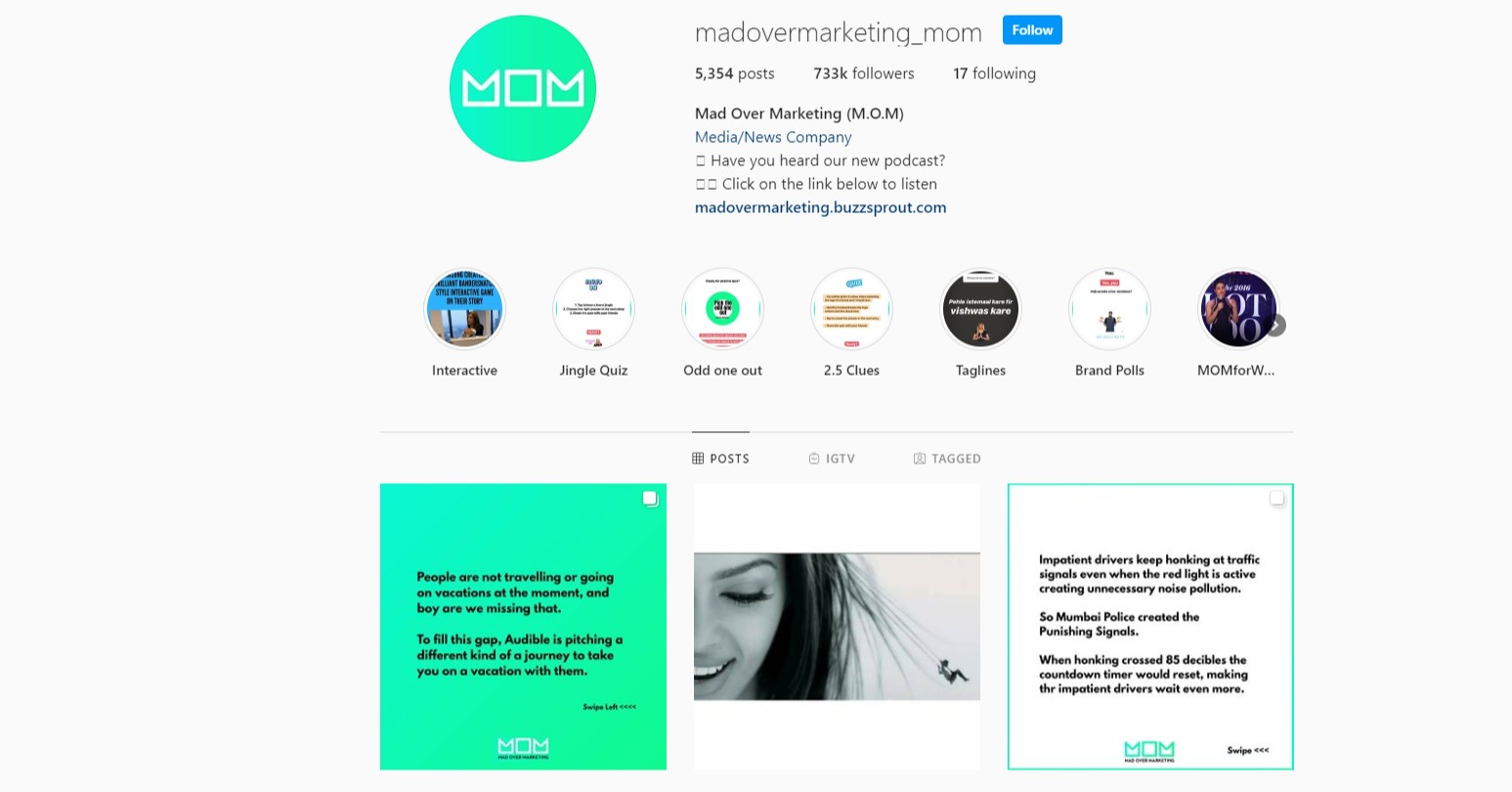 10 Creative Digital Agency Instagram Accounts - creative thinks media
