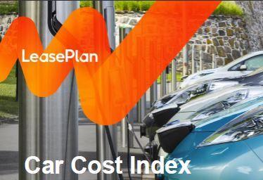 leaseplan car cost index maandelijkse kosten elektrische auto s dalen heel hard car cost. Black Bedroom Furniture Sets. Home Design Ideas