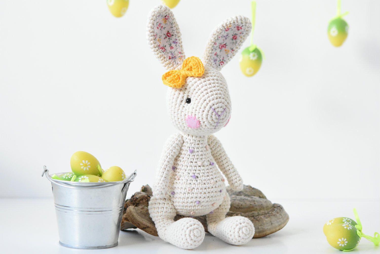 PATTERN Candy bunny crochet pattern amigurumi pattern | Amigurumis ...