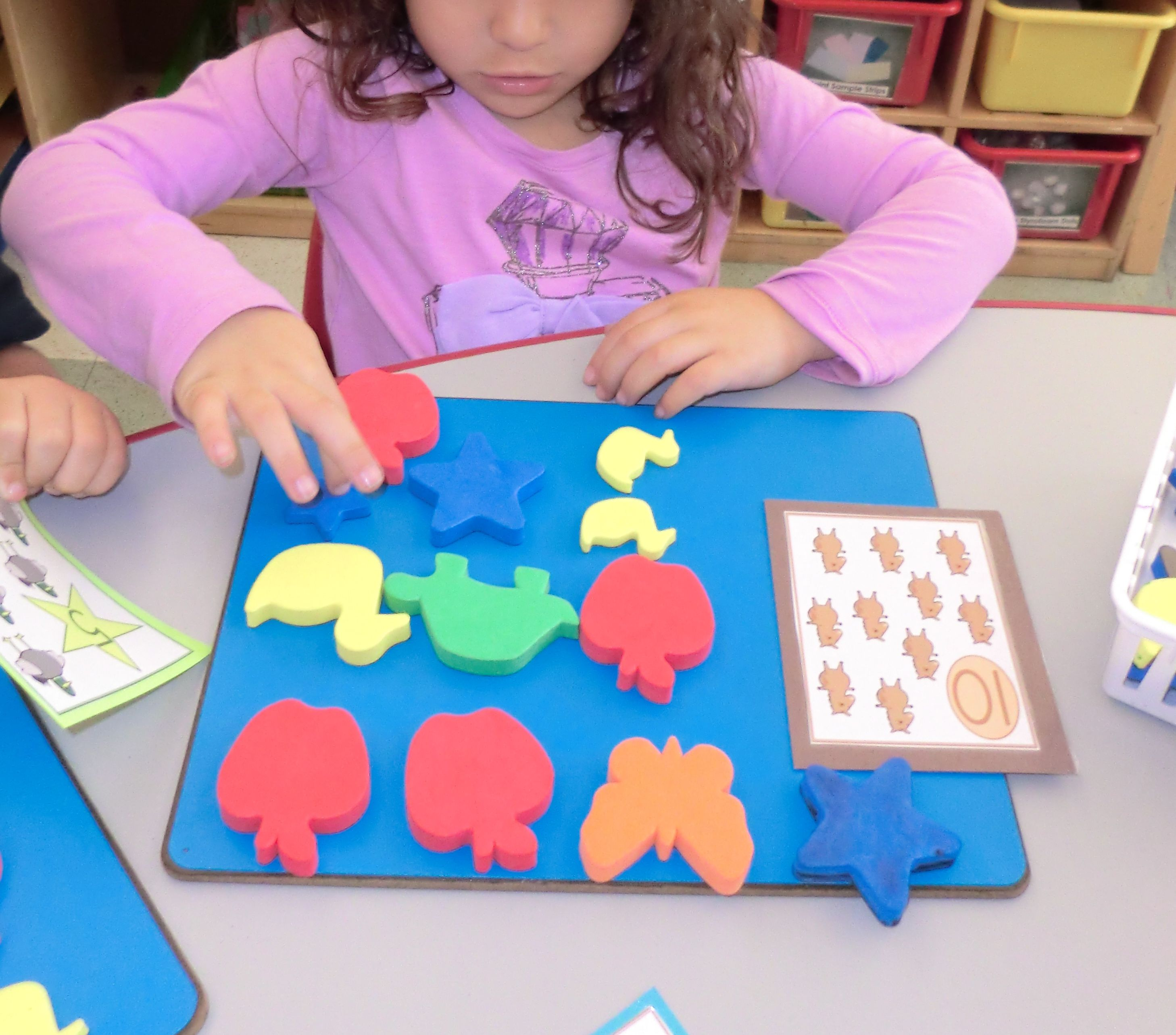 Counting One To One Correspondence Create A Pattern