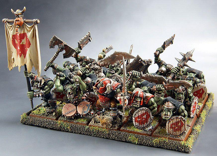 Warhammer Fantasy Orcs Orcos Goblin Goblins
