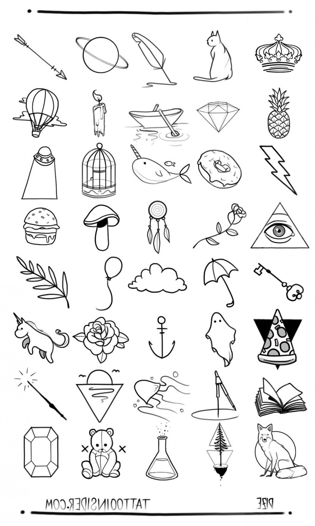 Ten Awesome Things You Can Learn From Little Tattoo Designs Little Tattoo Designs Small Tattoo Designs Small Tattoos Little Tattoos
