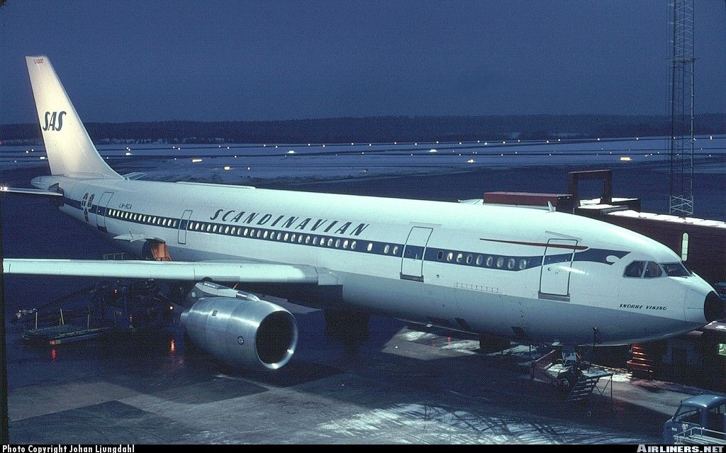 Photos Airbus A300b2 320 Aircraft Pictures Airliners Net Scandinavian Airlines System Airbus Aircraft