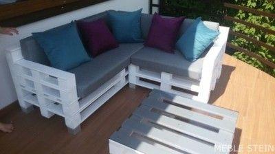 Poduszka Poduszki Materac Na Meble Z Palet Outdoor Decor Outdoor Sectional Sofa Outdoor Furniture