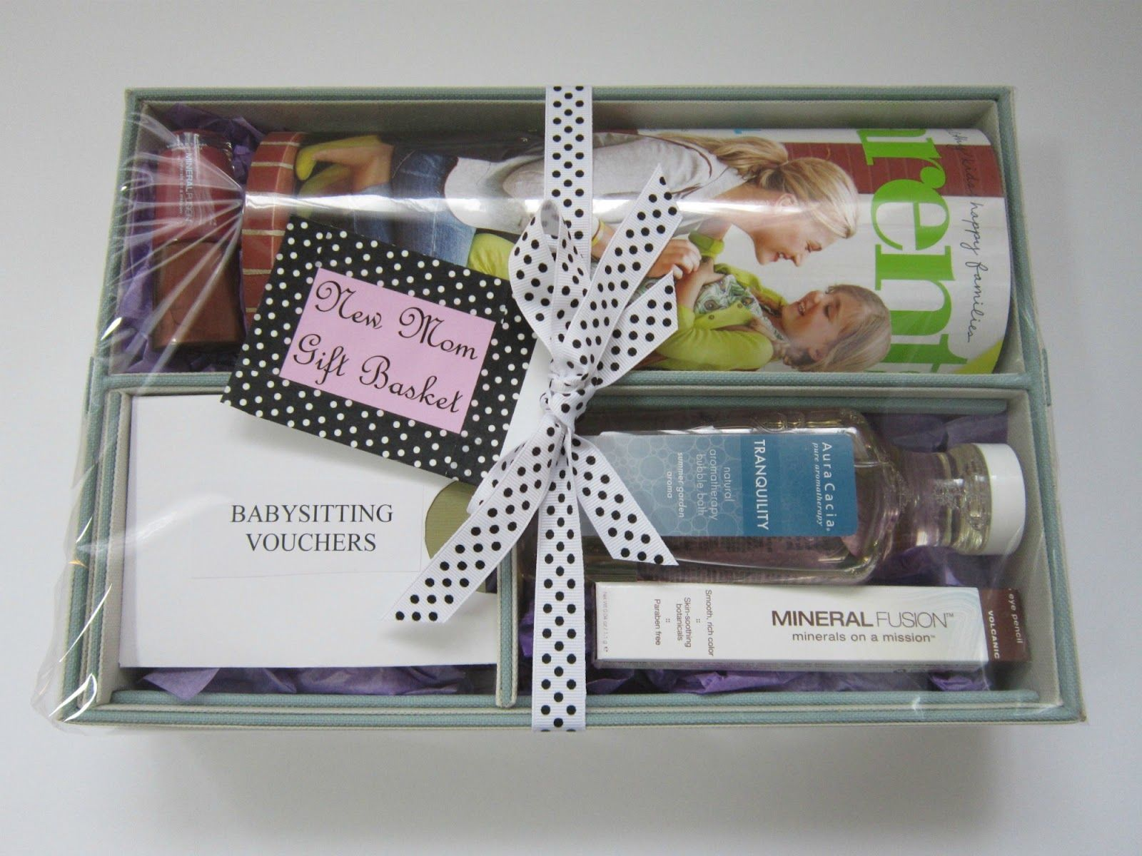 Design Megillah: New Mom Gift Basket,  Go To www.likegossip.com to get more Gossip News!