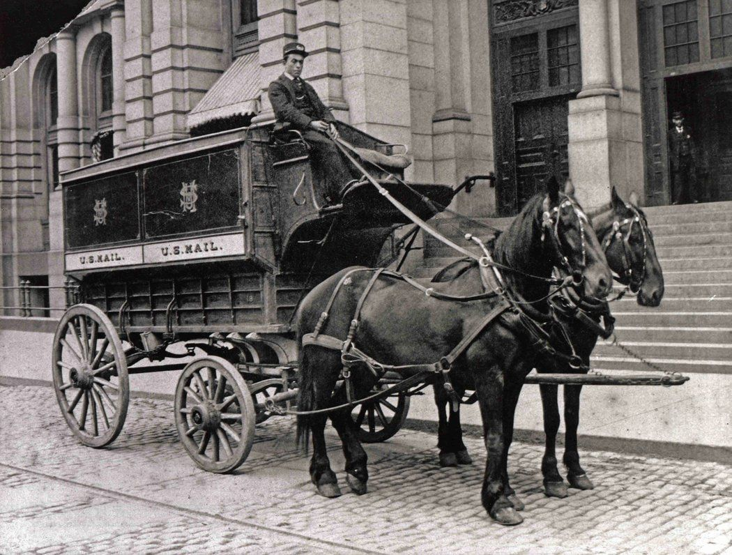 Reinventing The Mail Truck Published 2015 Mail Truck Old Photos Horses