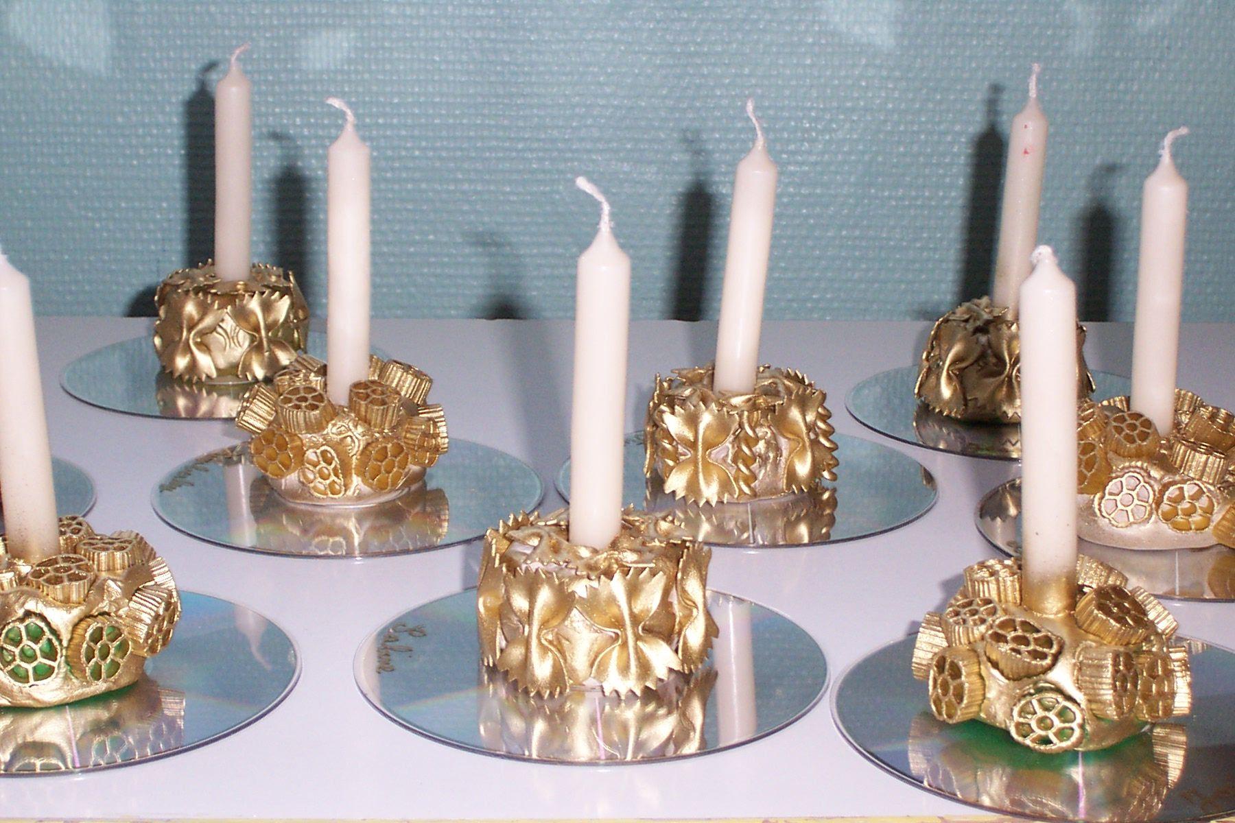 фото макароны и свечами имеет круглую