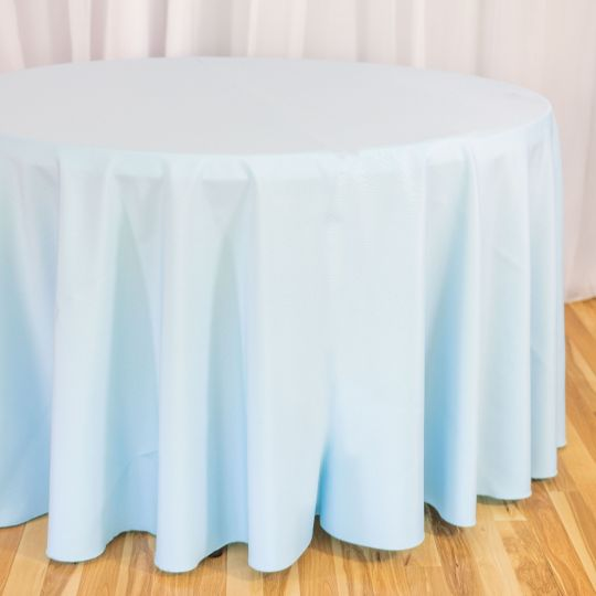 120 In Round Polyester Tablecloth Table Cloth Round Tablecloth Elegant Table