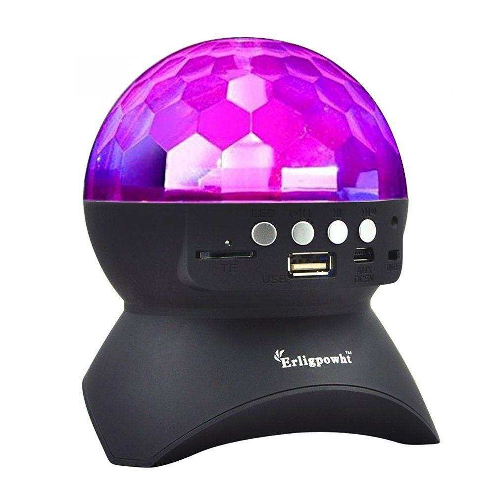 Disco ball light with wireless bluetooth speaker 1499