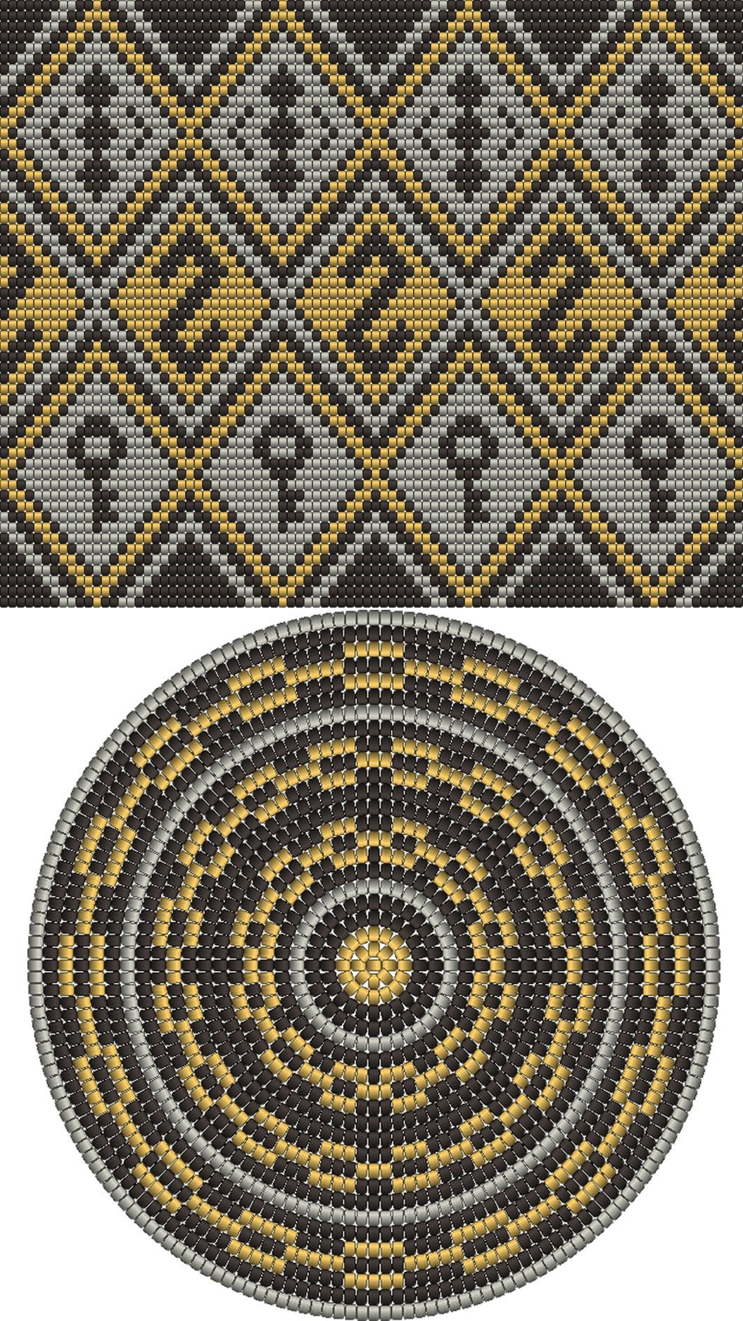 Wayuu Mochila pattern | vayu | Pinterest | Rauten, Muster und Körbchen