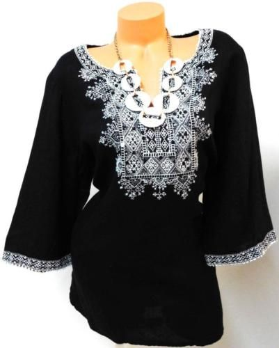 STYLE&CO. BLACK EMBROIDERED SEQUIN COLLAR WOMEN'S PLUS SIZE TOP 20W https://t.co/G2auCJ0bG8 https://t.co/4DdDaIHk0e