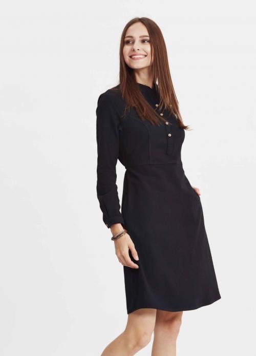 Siyah Renkli Hola Elbise - Fotoğraf