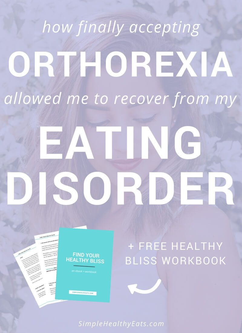 Workbooks eating disorder workbook : How Finally Accepting Orthorexia Allowed Me to Recover from my ...