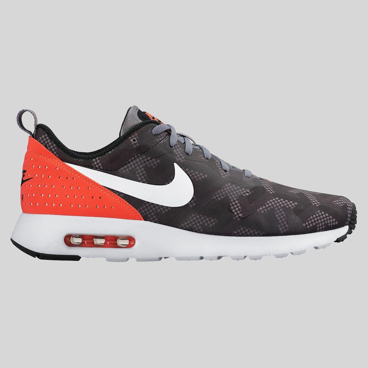 Nike Air Max Tavas SE Cool Grey Bright Crimson