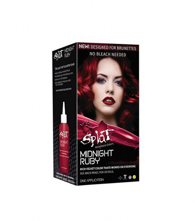 Brunettes This 9 Hair Dye Lets Your Color Without Bleach Splat Midnight Indigosplat