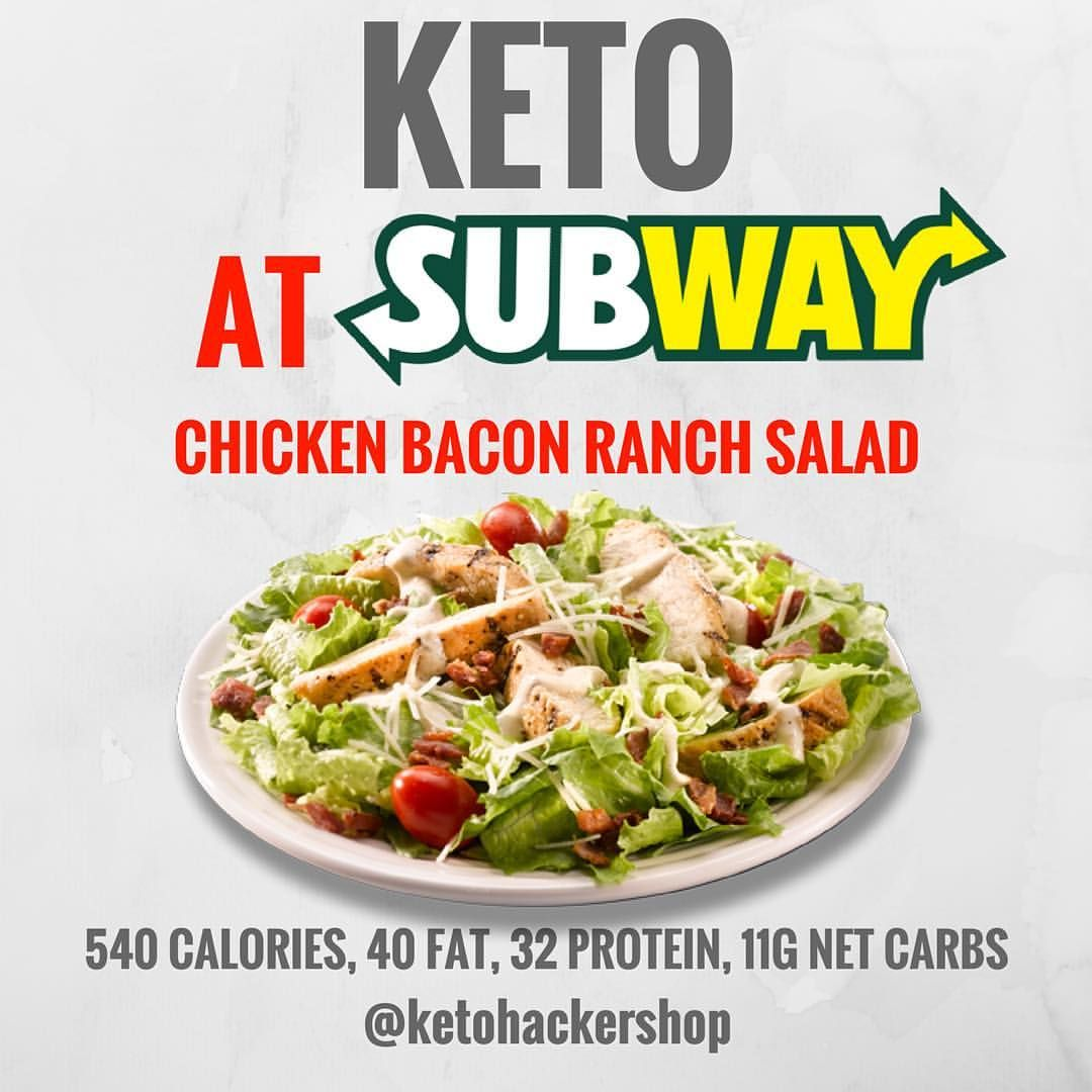 best thing from subway for keto diet