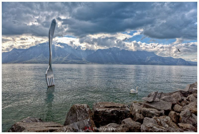 Vevey Switzerland Vevey Landscape Places To Travel