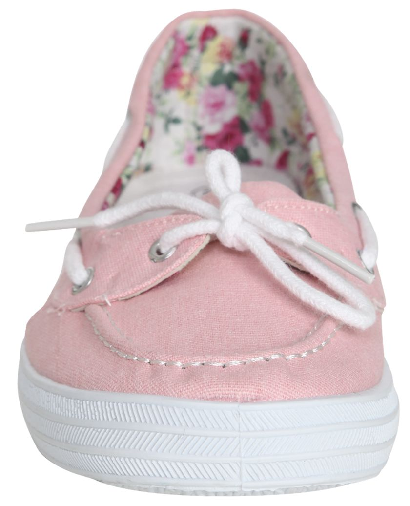 Pink Boat Shoes