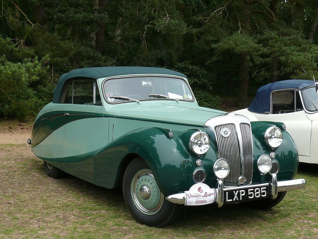 1951 Daimler DB18 Empress Convertible The material which I can ...