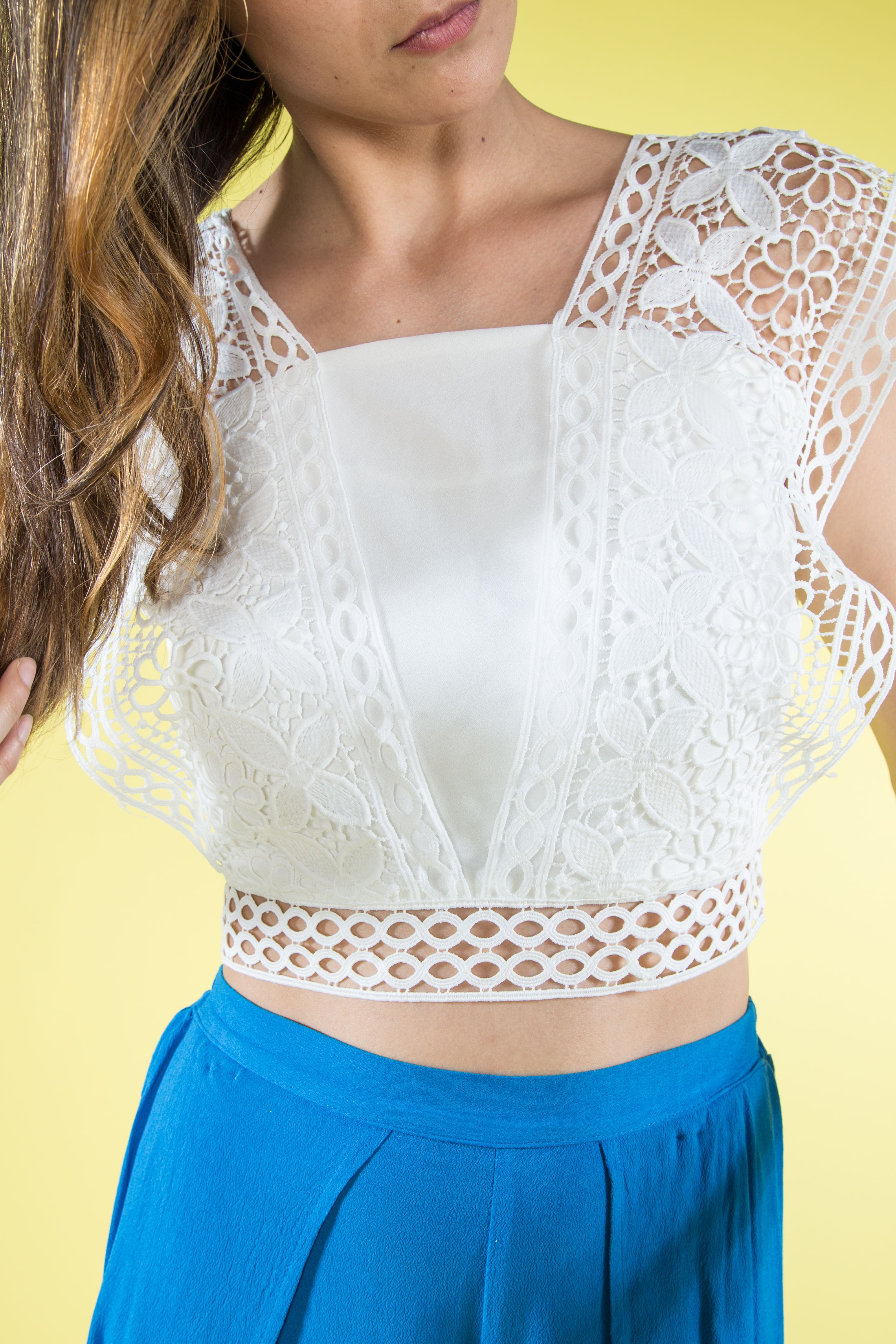 Lacy Lady Crop Top