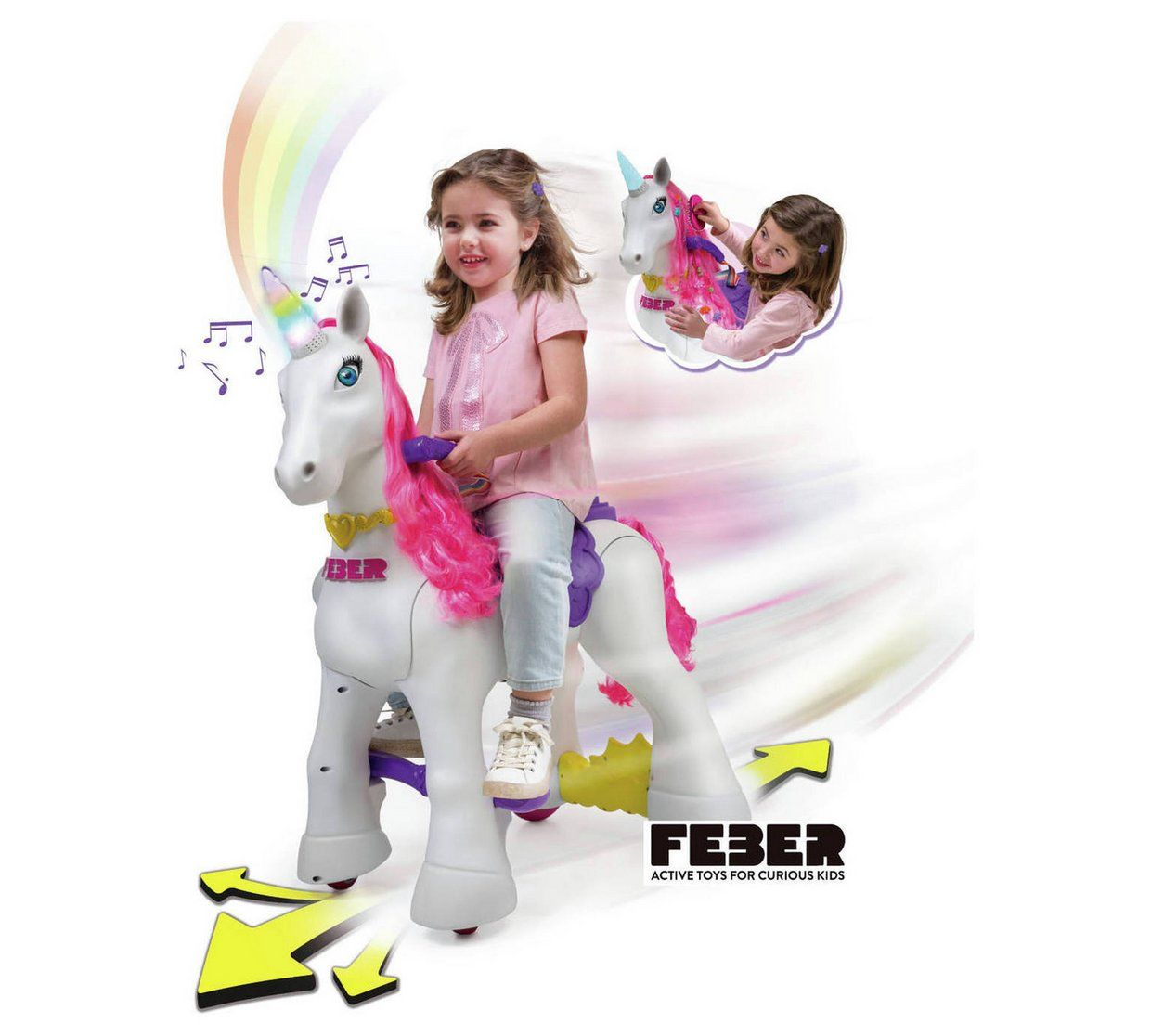 Buy my lovely unicorn 12v powered ride on electric ride