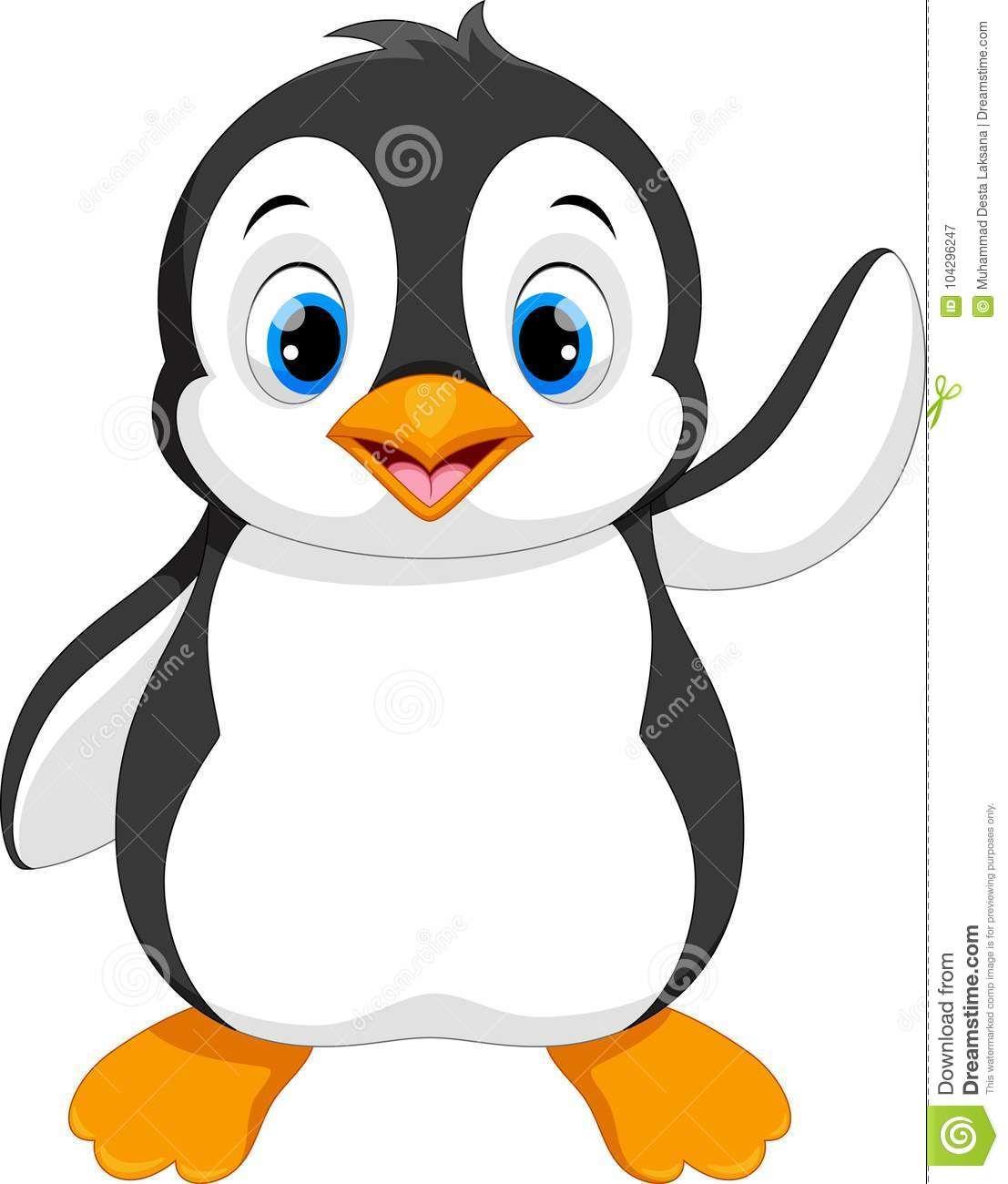 Illustration About Vector Illustration Of Cute Baby Penguin Cartoon Sitting Isolated On White Background Cute Baby Penguin Penguin Cartoon Cute Penguin Cartoon