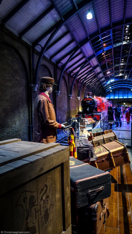Hogwarts in the Snow Harry Potter Studios in London in